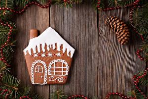 Картинка Рождество Печенье Дома