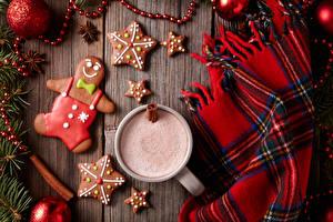 Обои Печенье Новый год