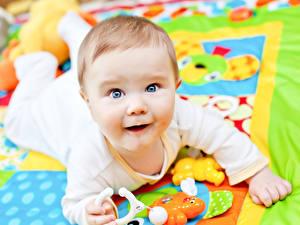Фотография Младенцы Лицо Взгляд Ребёнок
