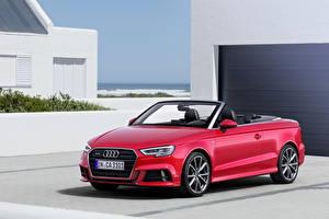 Фотографии Audi Кабриолета 2016 A3 cabriolet машины