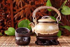 Обои Чай Чайник Еда фото