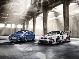 Обои БМВ Двое 2012 M6 F6 F13 Автомобили
