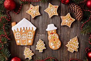 Фотографии Печенье Рождество