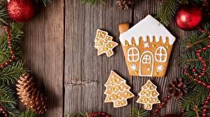 Картинки Рождество Печенье Здания