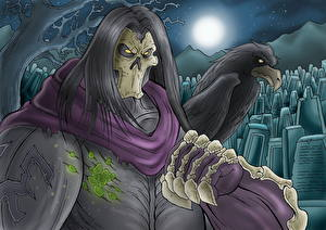 Обои Darksiders II Нежить Воины Вороны Игры