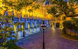 Фото Великобритания Дома Лондоне Уличные фонари