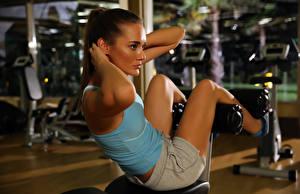 Обои Фитнес Спорт Девушки