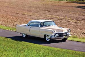 Обои Cadillac Ретро 1955 Sixty-Two Coupe de Ville (6237DX) Автомобили фото