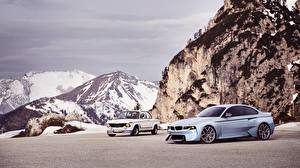 Картинка Горы BMW 2002 Hommage Concept авто