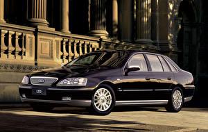 Фото Форд Черный Металлик 2005 LTD (BA) Автомобили