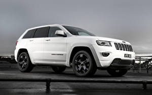 Картинка Jeep Белый 0014 Grand Cherokee Blackhawk WK2