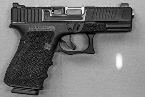 Обои Пистолеты Крупным планом Mark 1 Glock 19 SG Finish Армия фото