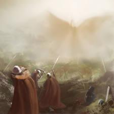 Обои Воители Ангелы Фэнтези фото
