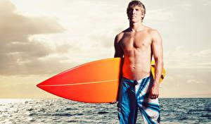 Фотографии Мужчины Море Серфинг