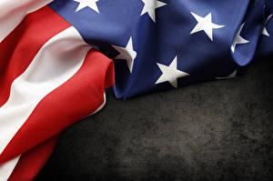 Фотография США Крупным планом Флаг