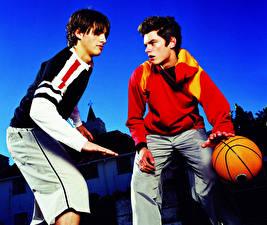 Фото Баскетбол Мяч 2 Свитер Парни Спорт