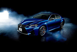 Обои Лексус Синий 2015 GS машина