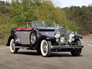 Обои Cadillac Ретро Кабриолет 1930 V16 452 Sport Phaeton by Fleetwood Автомобили фото