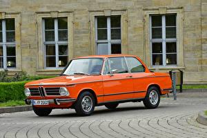 Картинки BMW Ретро Оранжевый 1971-73 2002 tii Worldwide авто