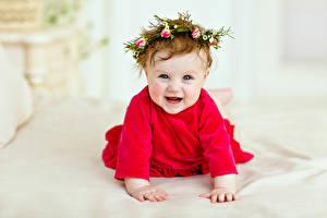 Фотография Младенца Улыбка Смеется ребёнок