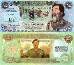 Обои Деньги Купюры 25 afghani Afghanistan фото