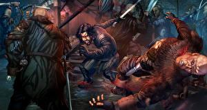 Обои Игра престолов (телесериал) Битвы Воители Рисованные Мужчины Фильмы фото