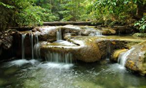 Картинки Водопады Природа