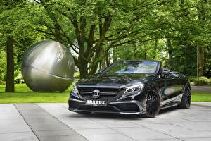 Фото Mercedes-Benz Brabus Черный Металлик Кабриолет 2016 Brabus 850 Cabriolet (A217)