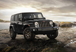 Фотографии Jeep Черный Wrangler