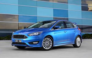 Фотография Ford Синий 2015 Focus Авто