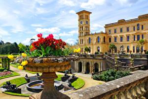 Обои Великобритания Парки Дворец Osborne House Queen Victoria's residence Города фото