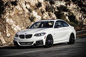 Фотография BMW Белый 2-Series Coupe F22 машина