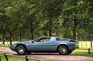 Фото Мазерати Старинные Сбоку 1971-78 Bora Worldwide (AM117) Italdesign Авто