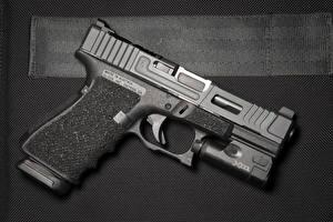 Фото Вблизи Пистолеты Glock Армия