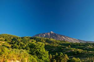 Обои Испания Пейзаж Гора Канарские острова Природа