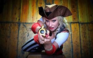 Картинка Пираты Шляпа Девушки