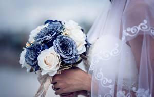 Фото Букеты Розы Свадьба Цветы