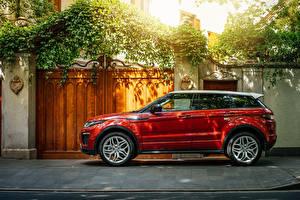 Картинки Range Rover Сбоку Evoque Машины