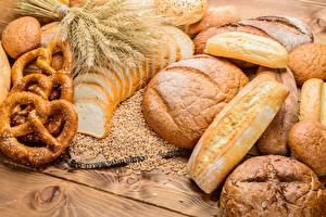 Картинки Хлеб Пшеница Колос Kringle Еда