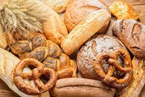 Картинка Хлеб Пшеница Колос Kringle Пища