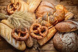 Фото Хлеб Пшеница Колосок Kringle Пища