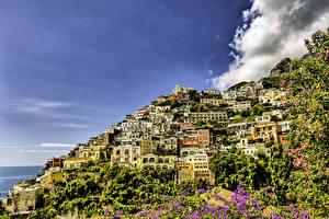 Фотографии Италия Дома Позитано