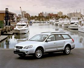 Фото Subaru Белый 2003-06 Outback 2.5i Авто
