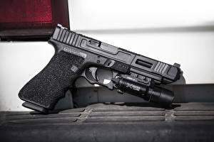 Фотографии Пистолеты Вблизи Glock 34 Армия