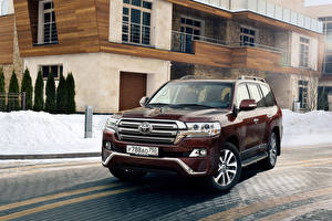 Картинки Toyota Металлик 2016 Land Cruiser 200 Executive авто