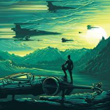 Фотографии Звёздные войны: Пробуждение Силы Корабли Фильмы Фэнтези
