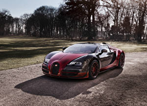 Обои BUGATTI Металлик Роскошные 2015 Veyron Grand Sport  Vitesse la Finale Автомобили фото