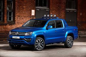 Фотография Volkswagen Синий Amarok Авто