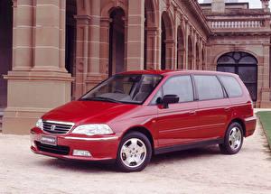 Фотография Honda Бордовая Металлик 2000-02 Odyssey Автомобили