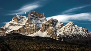 Фото Горы Италия Veneto Природа